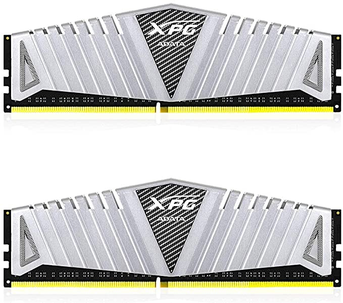 XPG Z1 DDR4 3200MHz (PC4 25600) 16GB (2x8GB) 288-Pin CL16-20-20 Memory Modules, Silver (AX4U320038G16A-DSZ1) at Amazon.com
