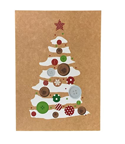 Boxed Christmas Cards.Eco Friendly Boxed Christmas Cards Fsc Material Set Of 16 Variety To Choose From Christmas Tree