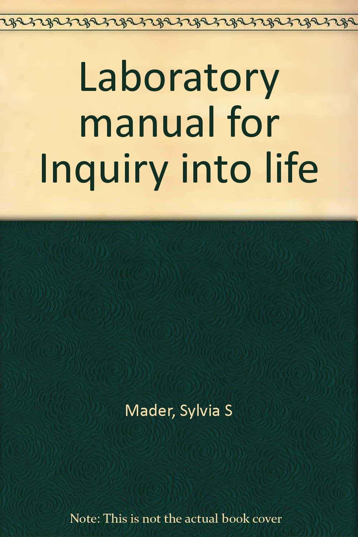 Laboratory manual for Inquiry into life: Sylvia S Mader: 9780697045676:  Amazon.com: Books