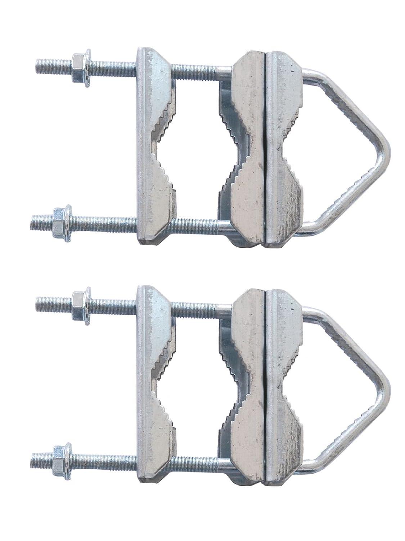 2 Pieces K/önig SAT-DC2 Double Clamps