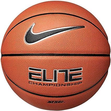 Brillante Productividad Plano  Amazon.com: Nike Elite Championship - Balón de baloncesto (29.5