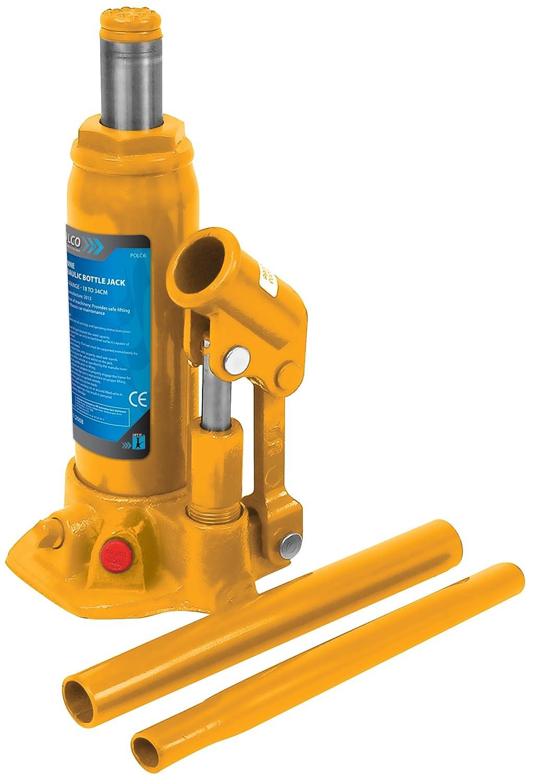POLCO POLC6 - Martinetto idraulico, 2 ton Custom Accessories Europe Limited