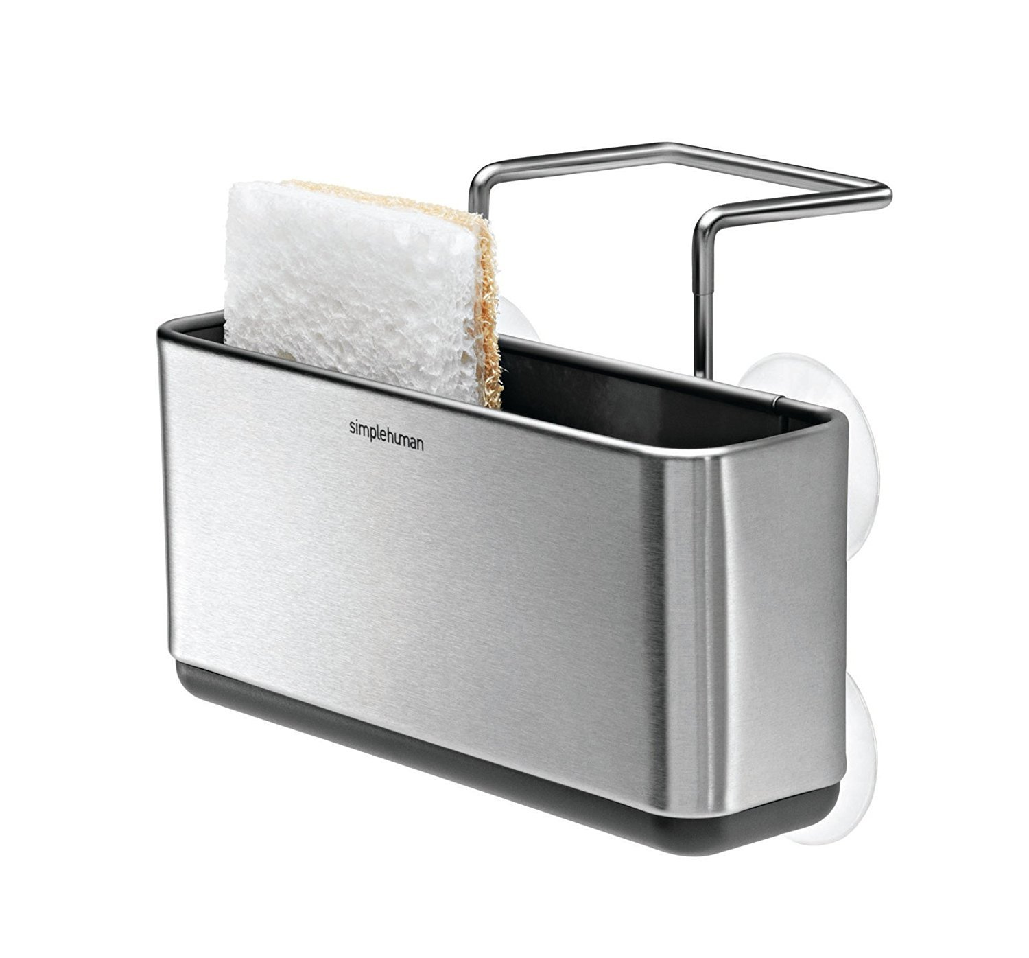 simplehuman Slim Sink Caddy, Brushed Stainless Steel KT1134