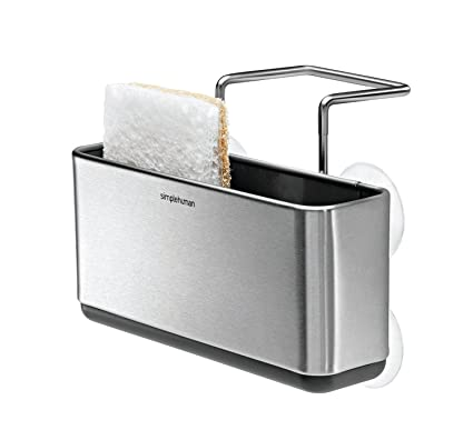 Superieur Simplehuman Slim Sink Caddy, Brushed Stainless Steel