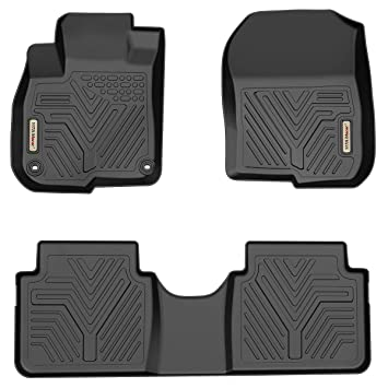 Custom Fit Floor Mats >> Yitamotor Floor Mats For Honda Cr V Custom Fit Floor Liners For 2017 2019 Honda Crv 1st 2nd Row All Weather Protection