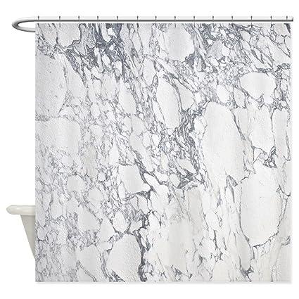 Amazon CafePress Marble Decorative Fabric Shower Curtain 69