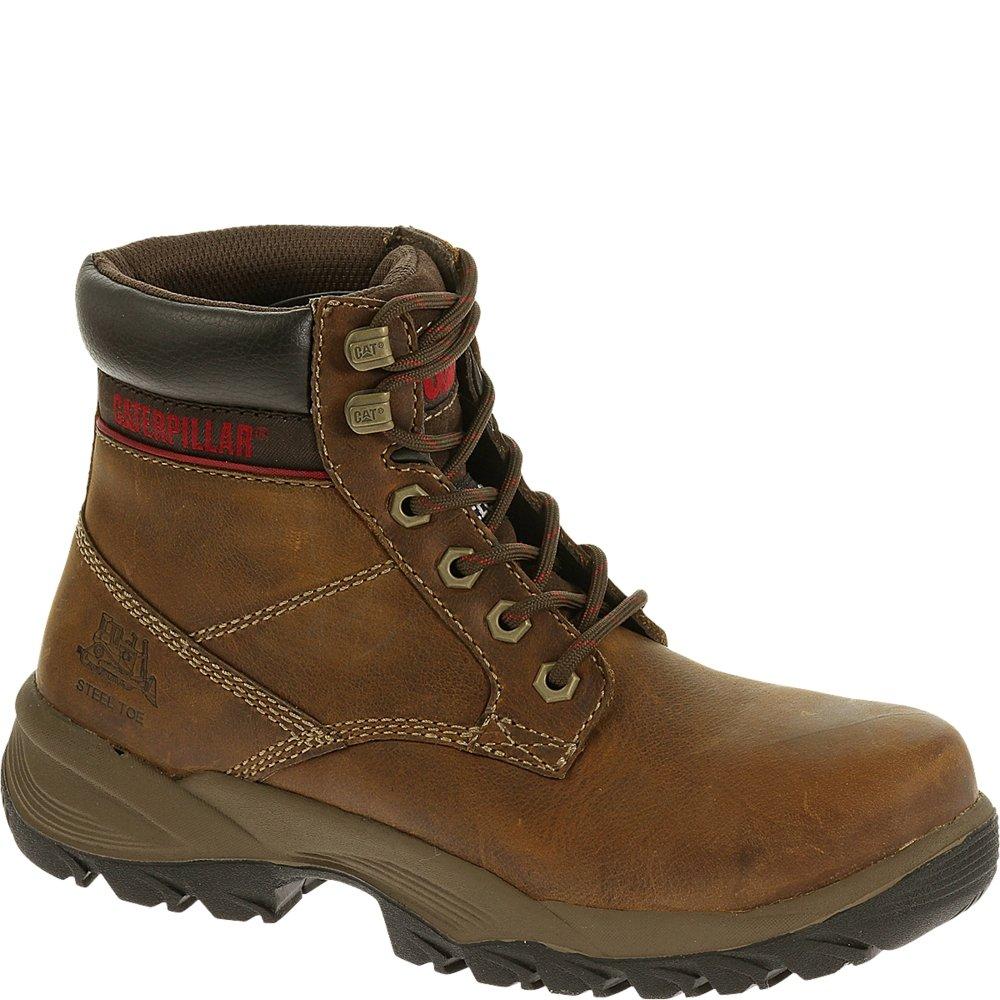 Dryverse 6'' Waterproof Steel Toe Work Boot Dark Beige 9.5 C/D US