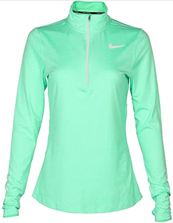 48e3e290 Image Unavailable. Image not available for. Color: Nike Women's Dry Element  Long Sleeve Running ...