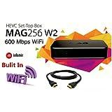 MAG 256W2Iptv set top box W/600Mbps WiFi