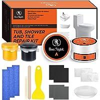 One Sight Reparatieset voor badkuip, tegels en wastafels, 7 oz witte douchereparatieset voor email, keramiek, glasvezel…