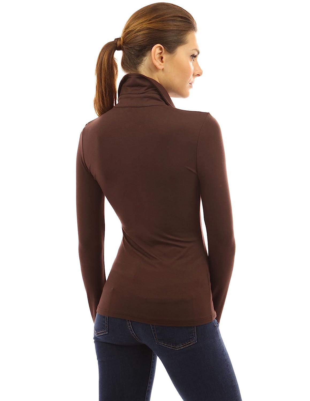PattyBoutik Women V Neck Long Sleeve Polo Shirt
