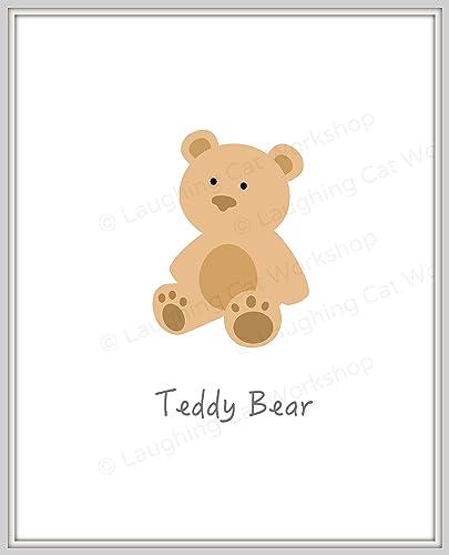 e1d0c24313e0b Amazon.com: Cute baby print, Cute Bear print, cute bear nursery ...