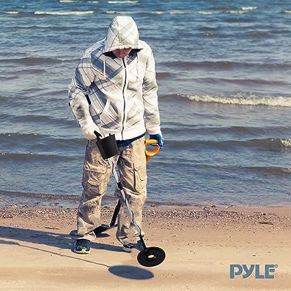 Pyle PHMD3 - Detector de metales con ajuste de la discriminación y bobina de búsqueda impermeable sumergible: Amazon.es: Industria, empresas y ciencia