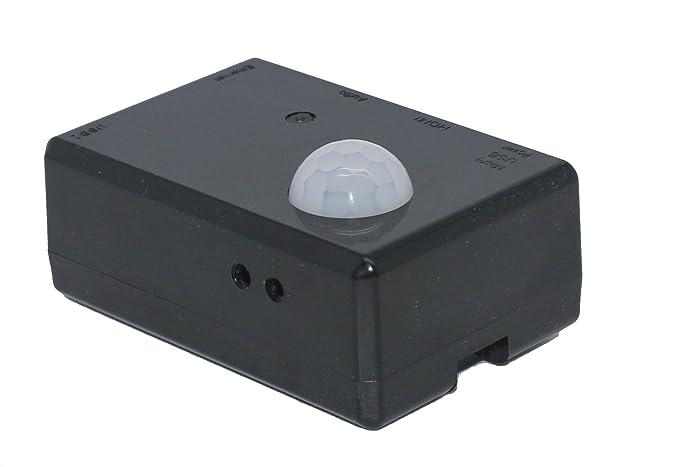 SB Components SPI-BOX Raspberry Pi 2 movimiento PIR activado kit de cámaras de seguridad de arranque (Starter Kit Negro): Amazon.es: Electrónica