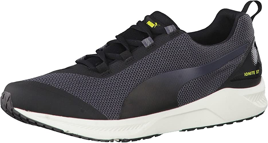 Puma Ignite XT v2 Mens Trainers Running Shoes Sports Grey