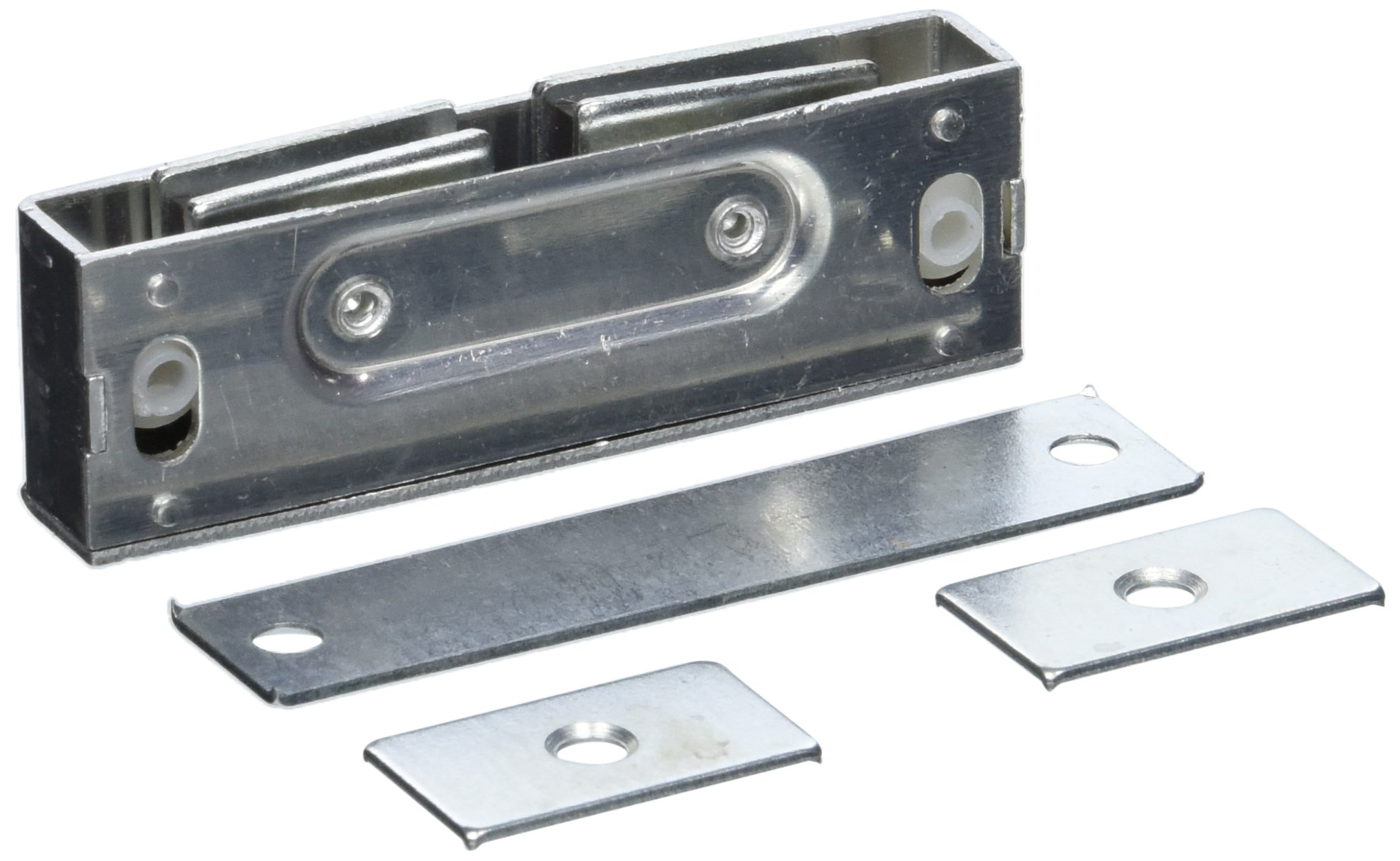 Deltana MC326 Steel Finish 31/8-Inch x 1-Inch x 9/16-Inch Magnetic Catch