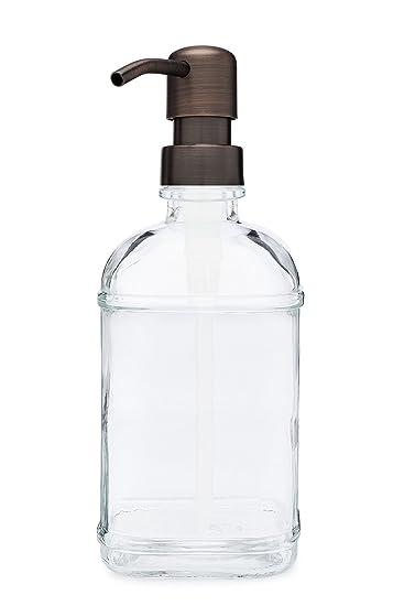 Amazon.com: rail19 Catalina vidrio fregadero dispensador de ...