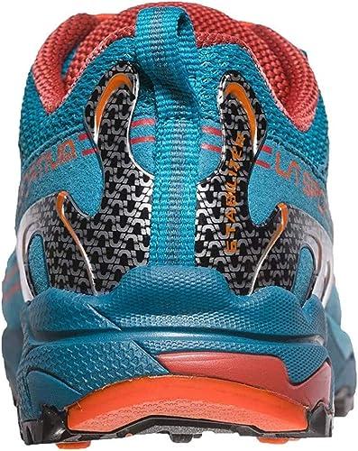 La Sportiva Falkon Low 36-40, Zapatillas de Senderismo para Mujer, Multicolor (Tropic Blue/Tangerine 000), 37 EU: Amazon.es: Zapatos y complementos