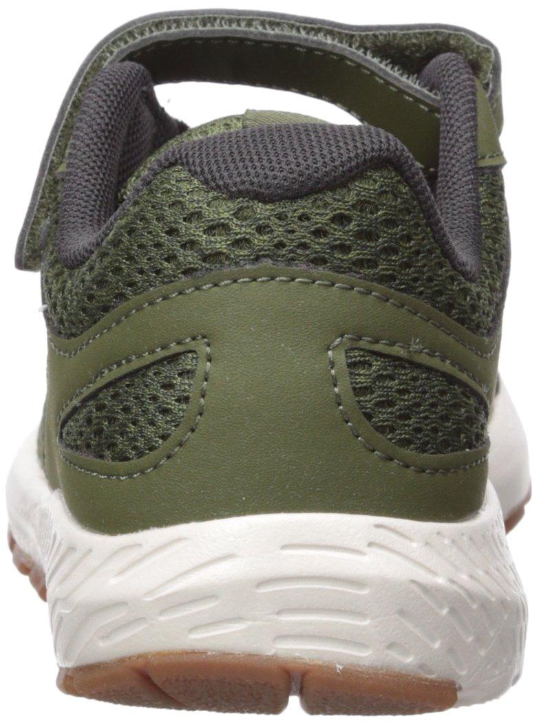 New Balance Boys' 519v1 Hook and Loop Running Shoe Dark Covert Green/Phantom 2 M US Infant by New Balance (Image #2)