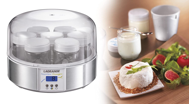 LAGRANGE 439601 - Yogurtera (17 W) Bronce, Transparente: Amazon.es: Hogar