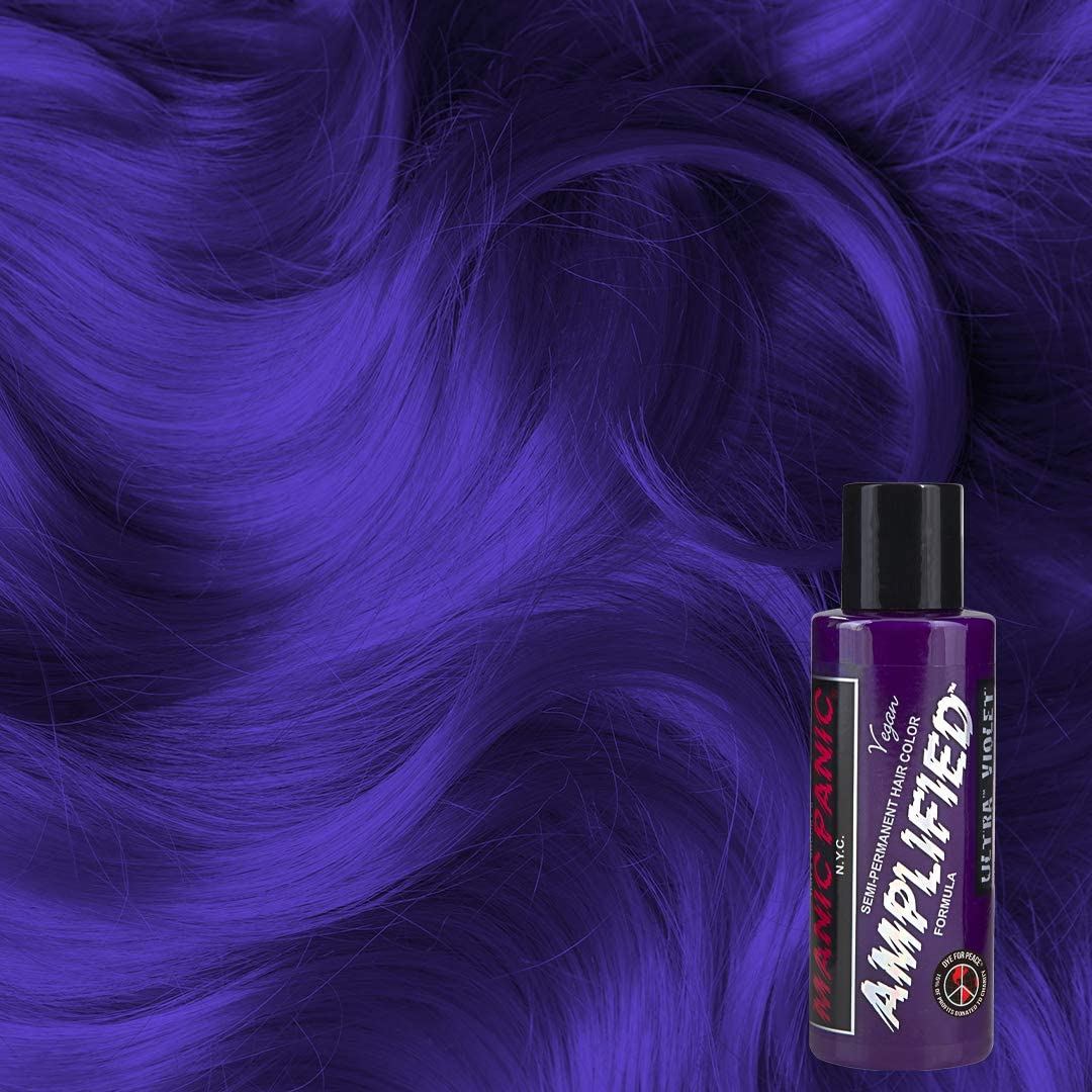 Manic Panic - Ultra Violet Amplified Creme Vegan Cruelty Free Semi-Permanent Hair Colour 118ml