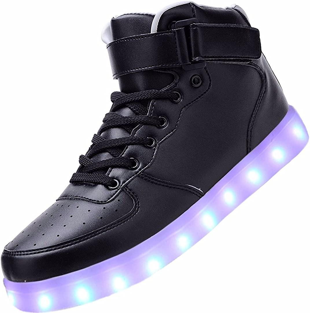 BOYS INFANT CLARKS BRITE ZAP FST HOOK /& LOOP SHOES FLASHING LIGHTS TRAINERS SIZE