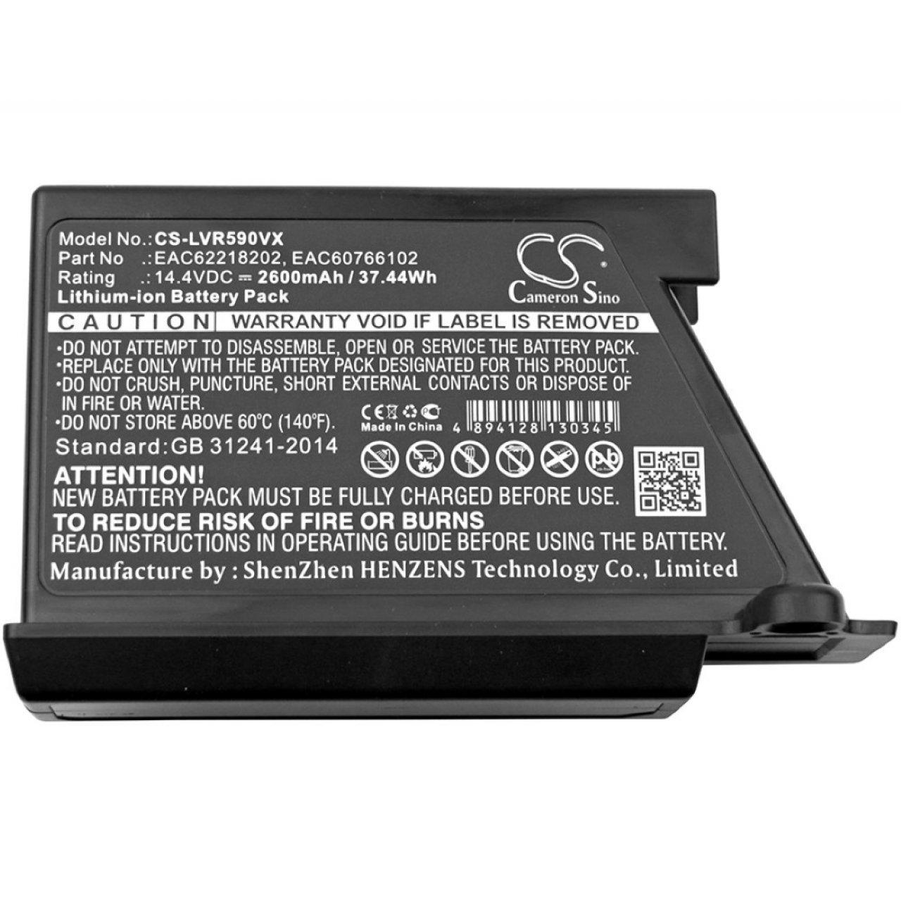 Powery Batería para Robot-Aspirador LG VR64701LVMP: Amazon ...