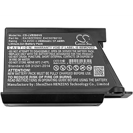 Powery Batería para Robot-Aspirador LG VR64607LV: Amazon.es ...