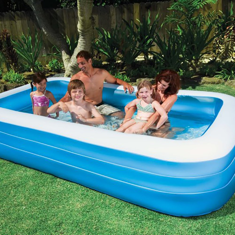 Intex Swim Center Family 72 x 120 Inch Swimming Pool and Quick Fill Air Pump by Intex (Image #5)