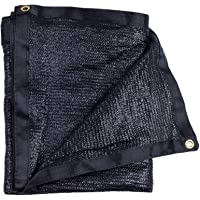 e.share 40% Black Shade Cloth Taped Edge with Grommets 10 ft X 12ft