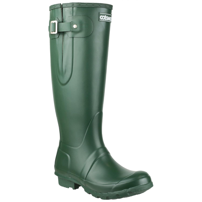 Cotswold Unisex Green Rubber Windsor Wellingtons