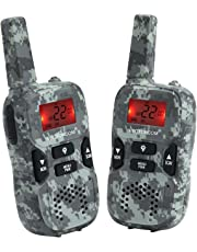 VECTORCOM Walkie Talkies Kids Two Way Radio Long Range Kids Walkie Talkie Boys Girls 22 Channel 3 Mile (Green)
