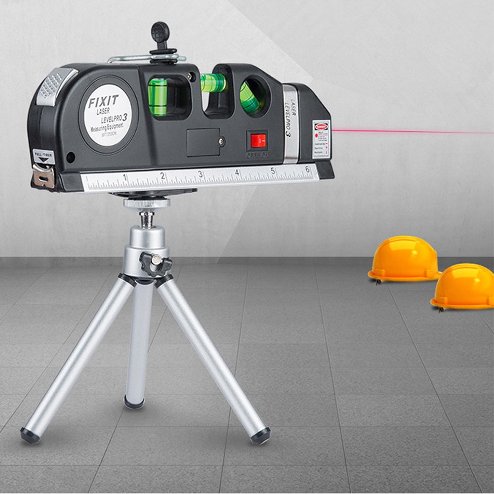 Y-Axis Multi-purpose Laser Level Measurement with Black Tripod Stand, 8ft Tape Measurement 3.5mV by Y-Axis (Image #5)