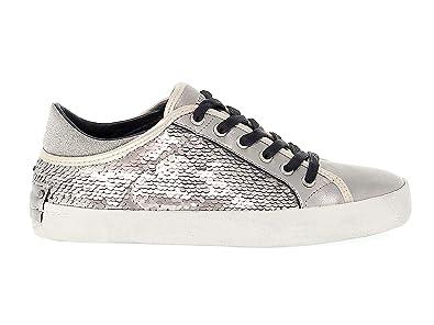 9ddddc164f5c6a CRIME London Damen 25035A1734 Silber Leder Sneakers  Amazon.de ...