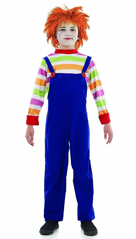 Niños estilo Chucky malo maniquí traje Large 8-10 years: Amazon.es: Juguetes y juegos