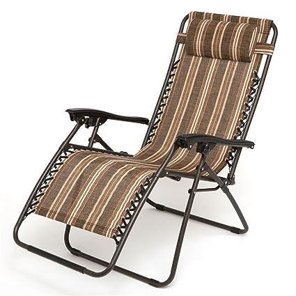 amazon com home bi adjustable zero gravity chair with pillow rh amazon com adjustable patio chair glides adjustable patio chair glides