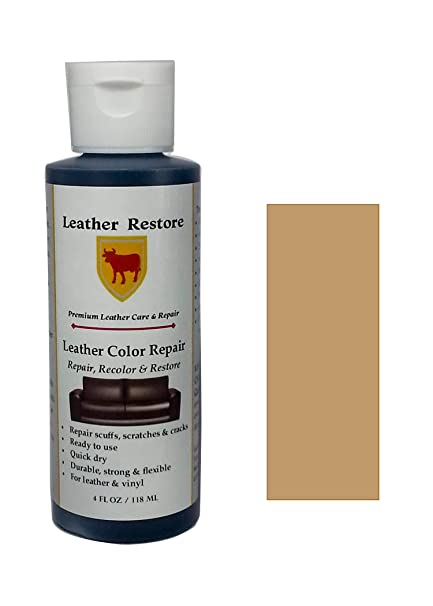 Furniture Clinic Easy Leather Restoration Kit | Set Includes Leather ...