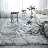 Shag Loomed Area Rug for Kids Play Room Warm Soft Faux Fur Luxury Rug Plush Throw Rugs High Pile Rug Handmade Knitted…