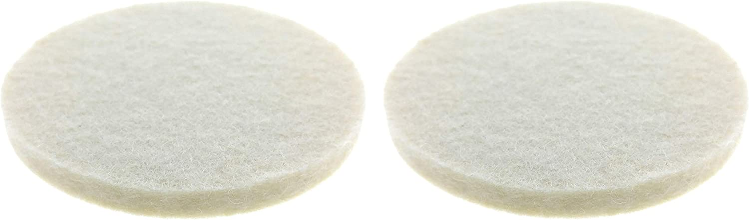 2 PACK Essential Values Replacement Filter Pads – Excellent Compatible Replacement For Filtron Part # 60-035 - Fits Both Standard & Pro Models Cold Water Coffee Concentrate Brewers