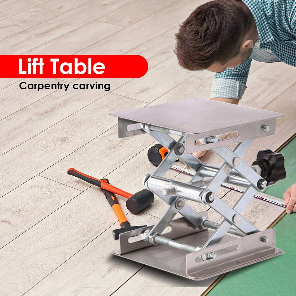 Lifting Stand Rack, Aluminum Router Lift Table Woodworking Engraving Lab Lifting Stand Rack by ttnight (Image #6)