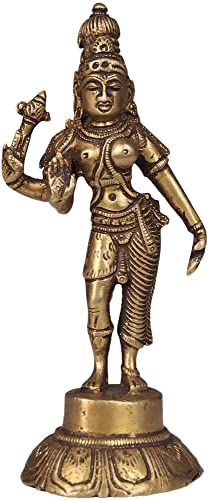 Ardhanarishvara Shiva-Shakti – Brass Statue