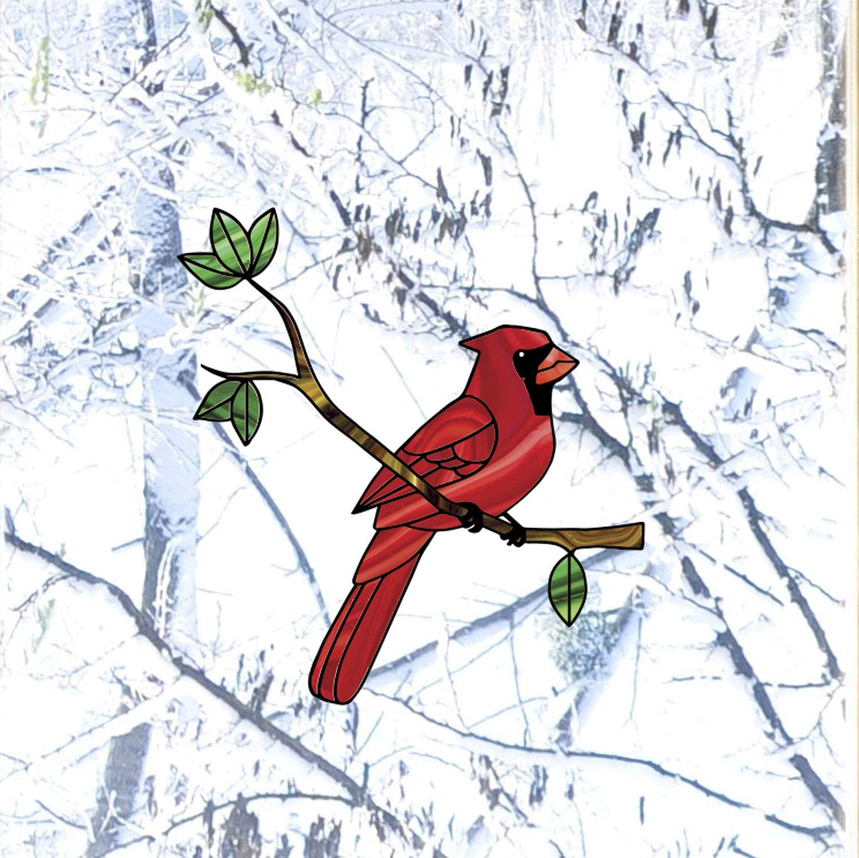 Cardinal Decal Red Backyard Bird Vinyl Car Truck Window Sticker Graphic Ebay