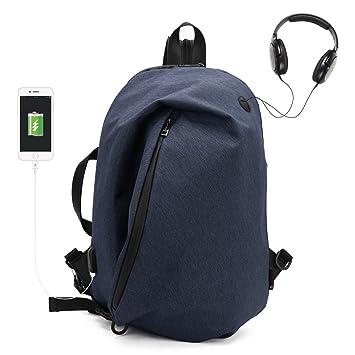 eb823be709ae WindTook Laptop Rucksack mit USB Ladeanschluss Wasserdichte Schulrucksack Business  Backpack Multifunktions Daypacks für 15 Zoll Notebook