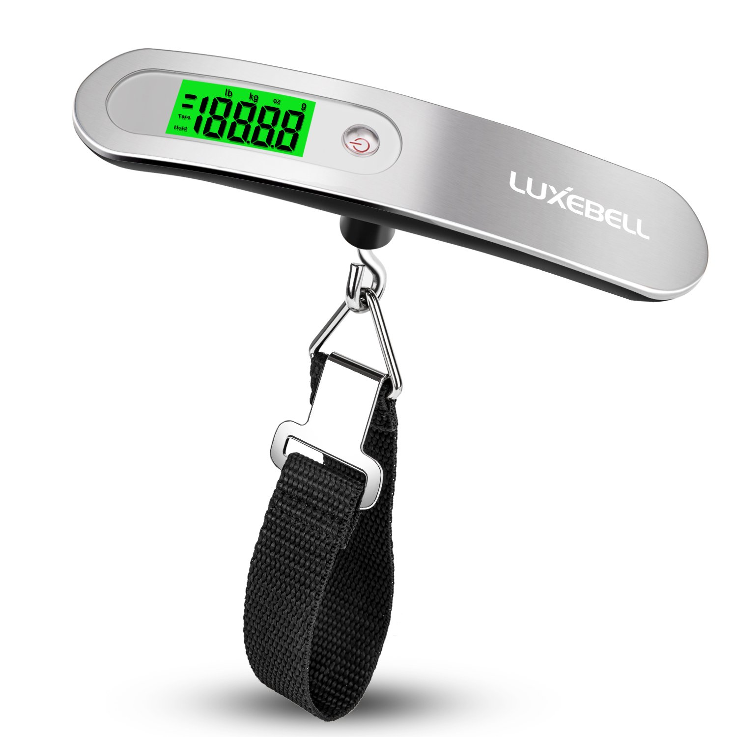 Luxebell 110lbs Digital Luggage Scale - Gift for Traveler LS0007