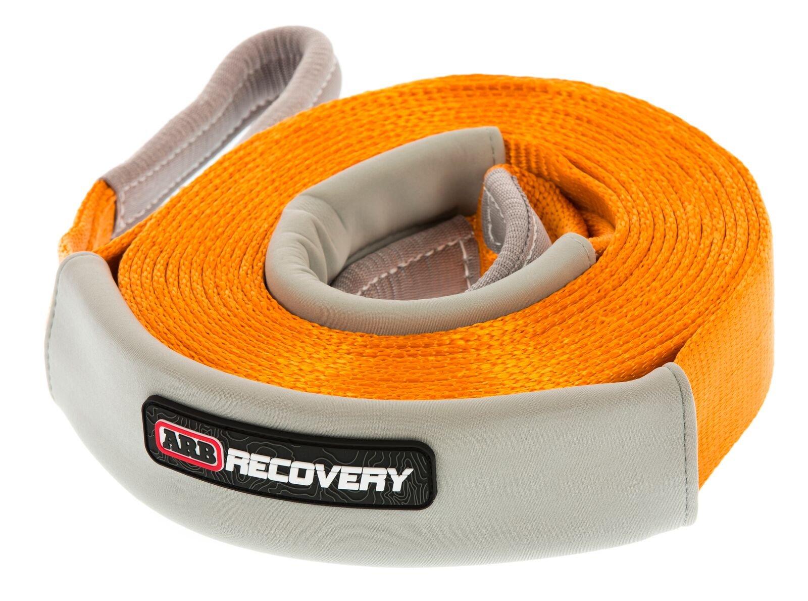 "ARB 4x4 Accessories ARB705LB Orange 30' x 2 3/8"" Snatch Strap Recovery, 1 Pack"