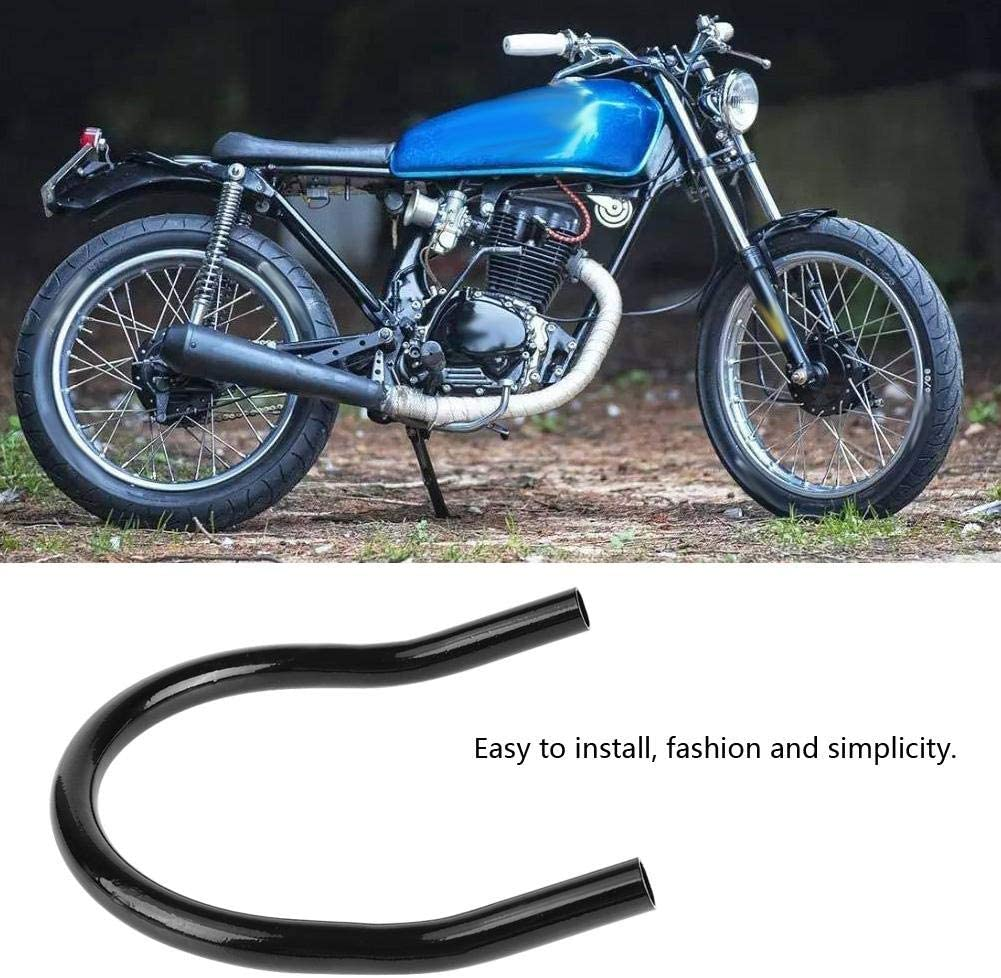 175mm-straight staffa del telaio del telaio del sedile posteriore della motocicletta Accessorio fai-da-te telaio del sedile del motociclo Telaio del sedile del motociclo anello del sedile