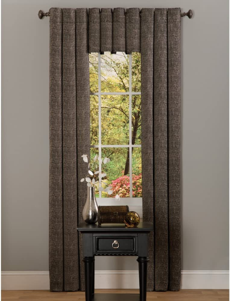 Achim Home Furnishings Hudson Curtain Panel, 42-Inch by 63-Inch, Linen