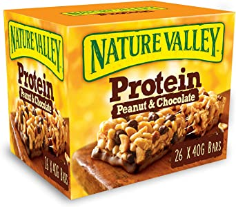 Nature Valley Protein Peanut & Chocolate Gluten Free Cereal ...