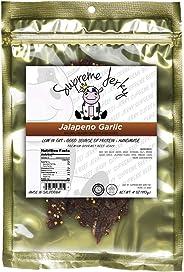 Supreme Beef Jerky - Halal Beef Jerky 4 oz (Jalapeno Garlic)