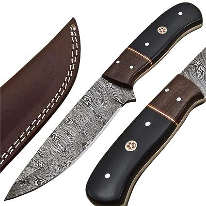 Amazon.com: WICKED STOCK - Cuchillo de caza con espalda ...